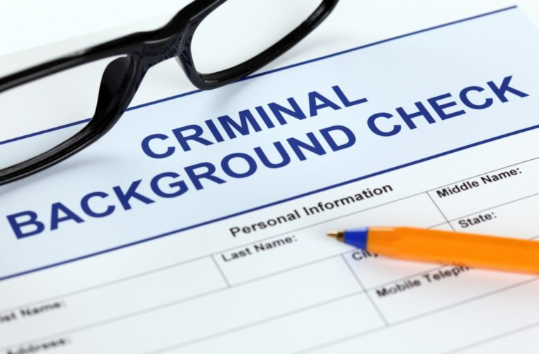 criminal record background check